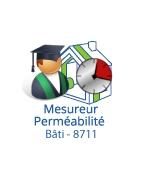 8711 - Mesureur perméabilité à l'air du bâtiment