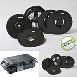 Etalonnage Minifan + mise à disposition valise de transport et ventilateur
