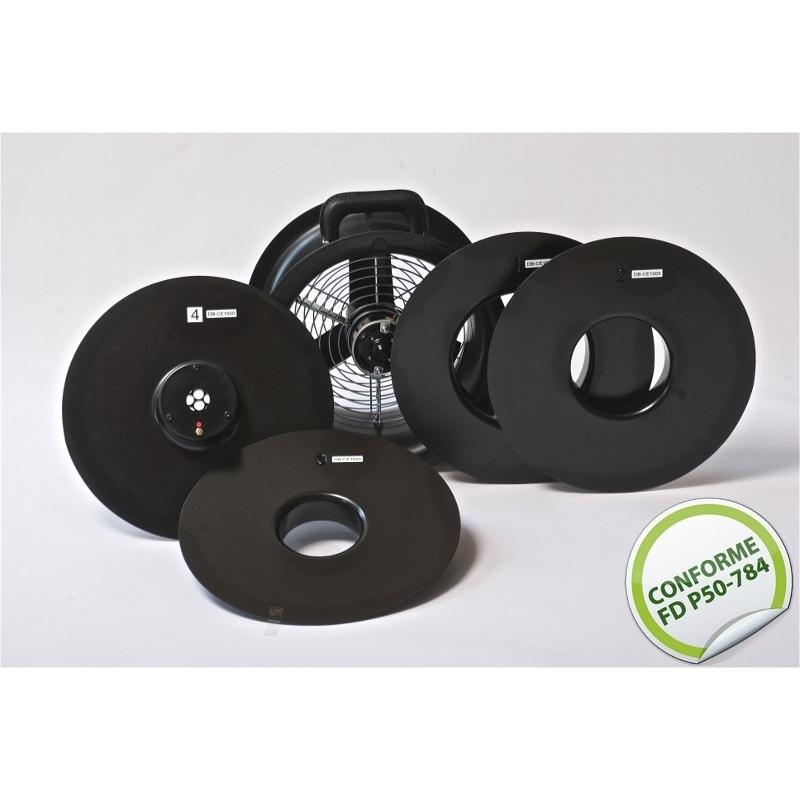 Etalonnage 5 anneaux Minifan Conforme FD P50-784