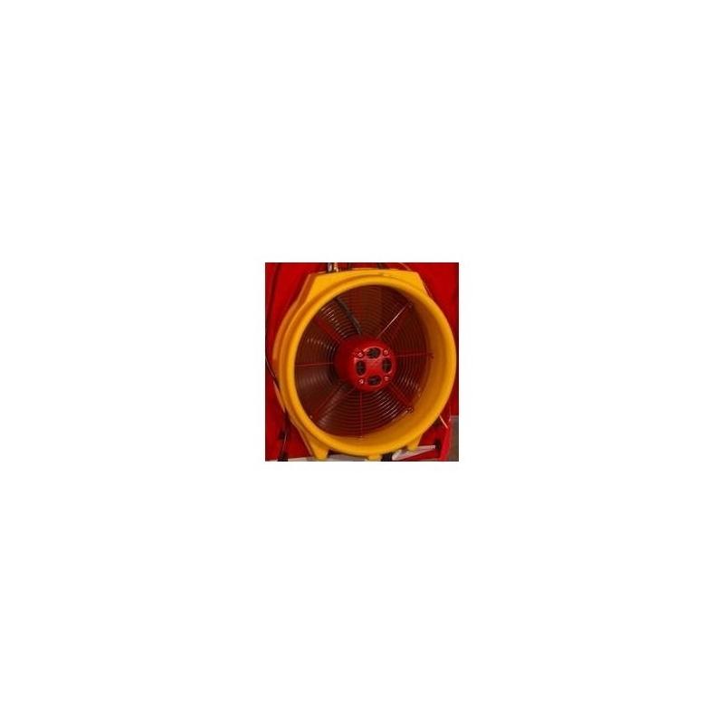 Etalonnage 11 configurations Ventilateur RETROTEC Conforme