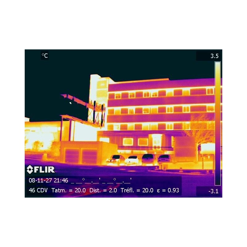 Introduction à la thermographie bâtiment