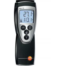 Thermomètre de précision Testo 110 avec sonde d'ambiance (CTN)