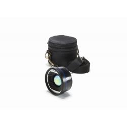 Objectif de 24,6 mm, champ de vision 25°