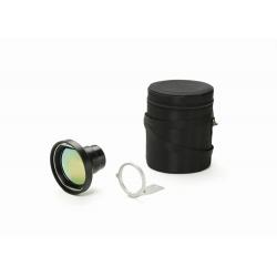 Objectif de 88,9 mm, champ de vision 7°