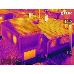 Expertise thermographie par drone professionnel